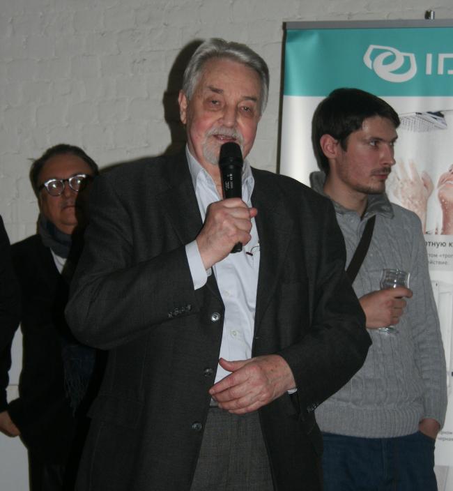 Юрий Петрович Гнедовский, почетный президент Союза архитекторов России