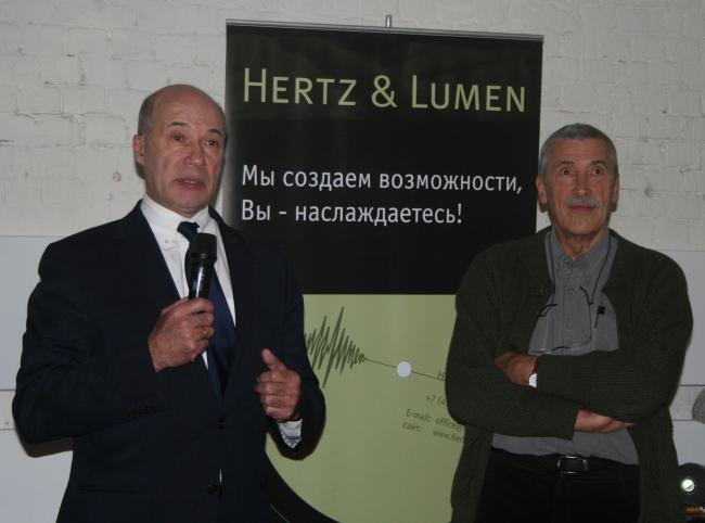 Андрей Владимирович Боков, президент Союза архитекторов России и Александр Андреевич Скокан