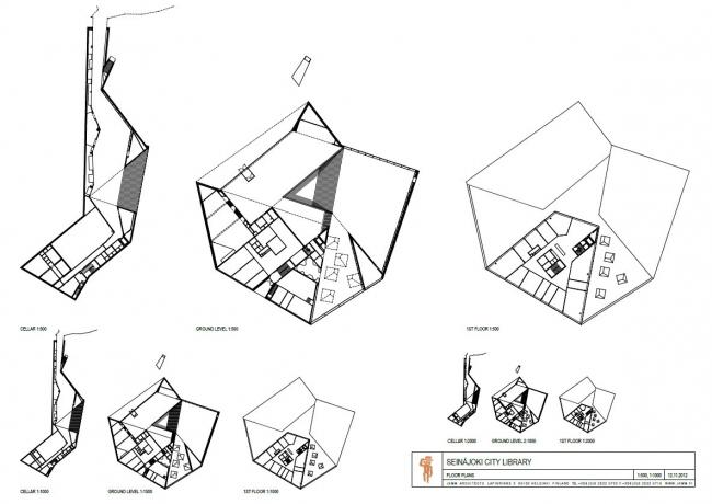 Городская библиотека Сейняйоки © JKMM Architects
