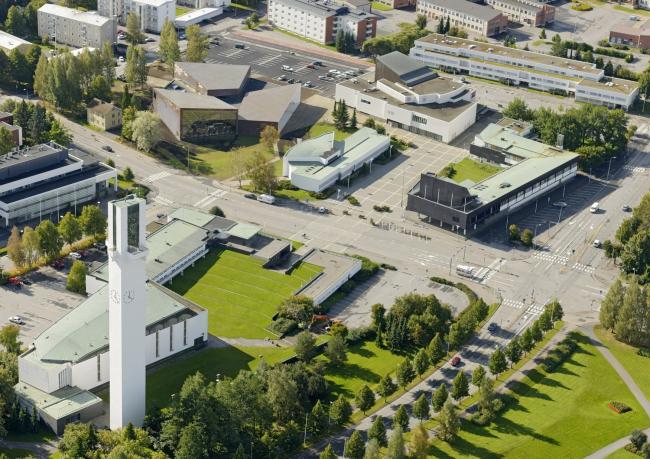 Городская библиотека Сейняйоки (слева вверху) © Hannu Vallas. Предоставлено JKMM Architects