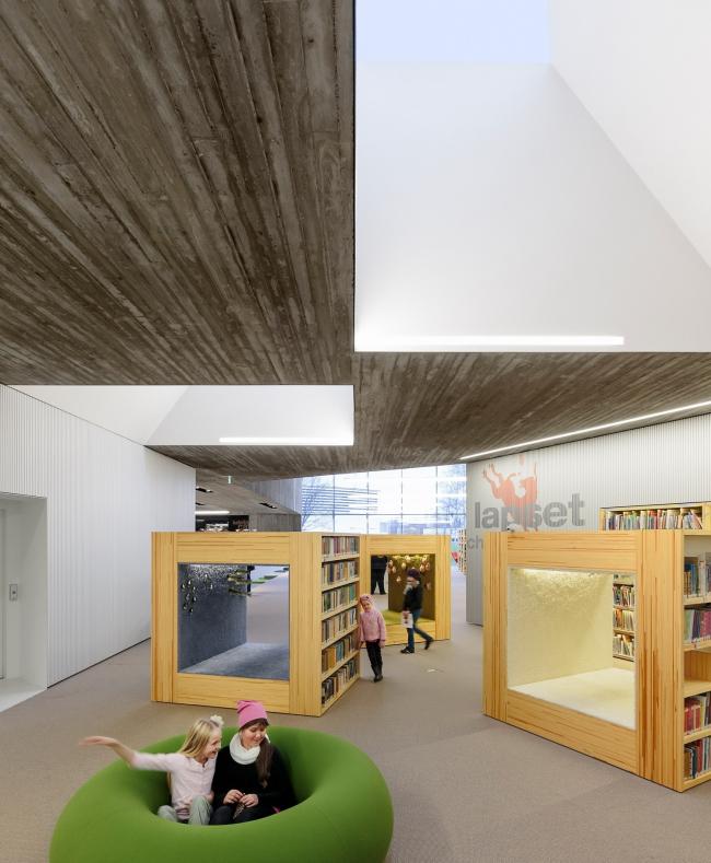 Городская библиотека Сейняйоки © Tuomas Uusheimo. Предоставлено JKMM Architects