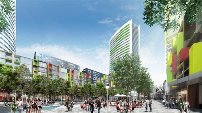 Новый район гавани Дарлинг-харбор. Квартал Хэймаркет © SICEEP