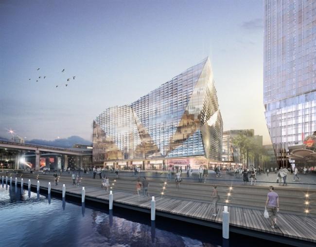 Новый район гавани Дарлинг-харбор. Международный конгресс-центр © SICEEP