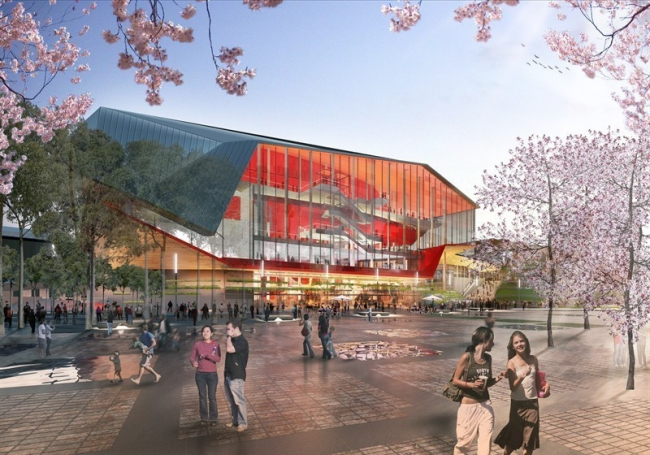 Новый район гавани Дарлинг-харбор. Театр © SICEEP