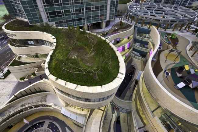 Многофункциональный комплекс Mecenatpolis © Jerde Partnership