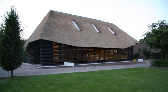 Фламандский амбар - реконструкция © Arend Groenewegen Architect