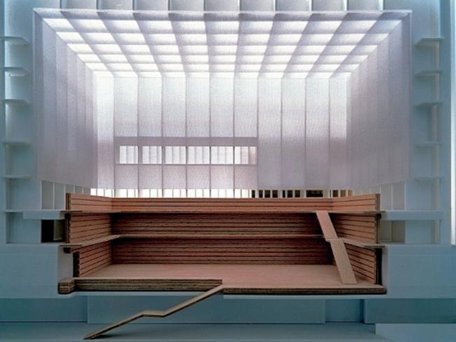 Корпус читальных залов Берлинской государственной библиотеки © hg merz architekten museumsgestalter