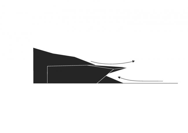 Фестивальный зал в Эрле © Delugan Meissl Associated Architects