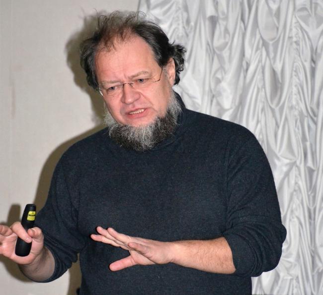 Никита Явейн. Лекция в ЦДА. Фотографии Елены Петуховой