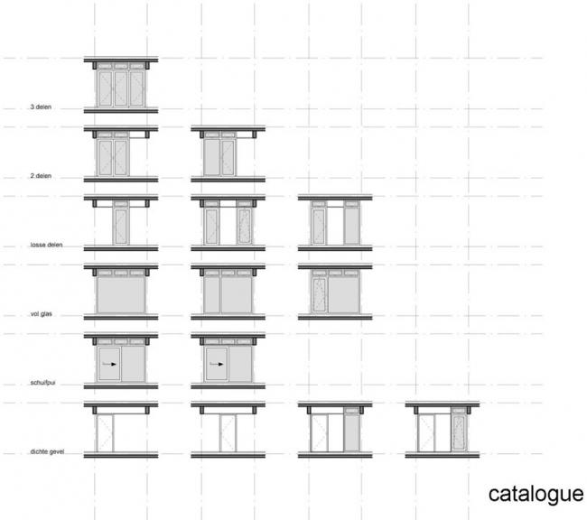 Жилой комплекс Клейбург - реконструкция © NL Architects