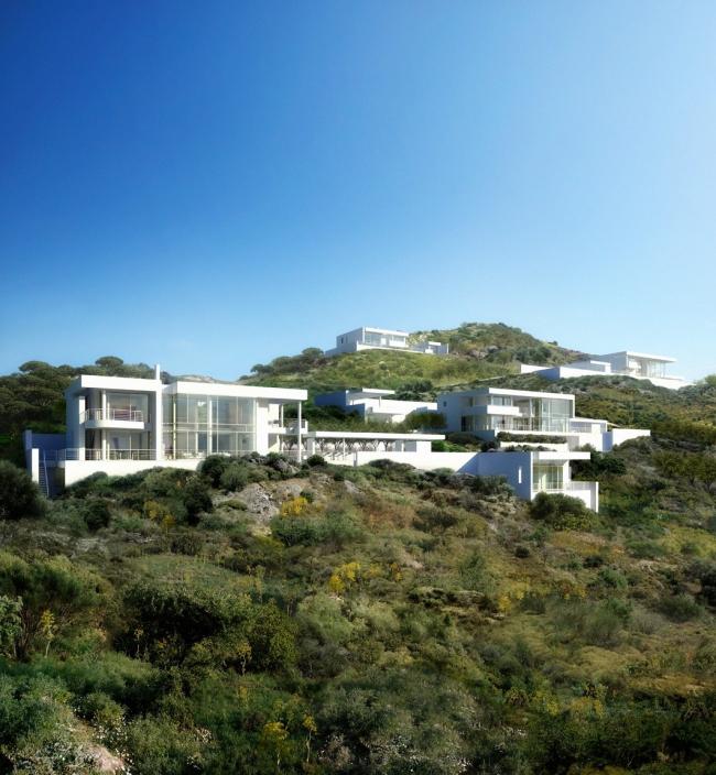 Поселок «Дома в Бодруме». Изображение © Richard Meier and Partners