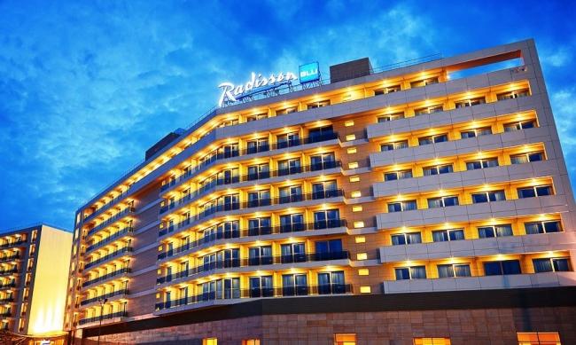 Гостиница Radisson Blu Resort & Congress Hotel. Генподрядчик: ООО «ОтельСтрой»