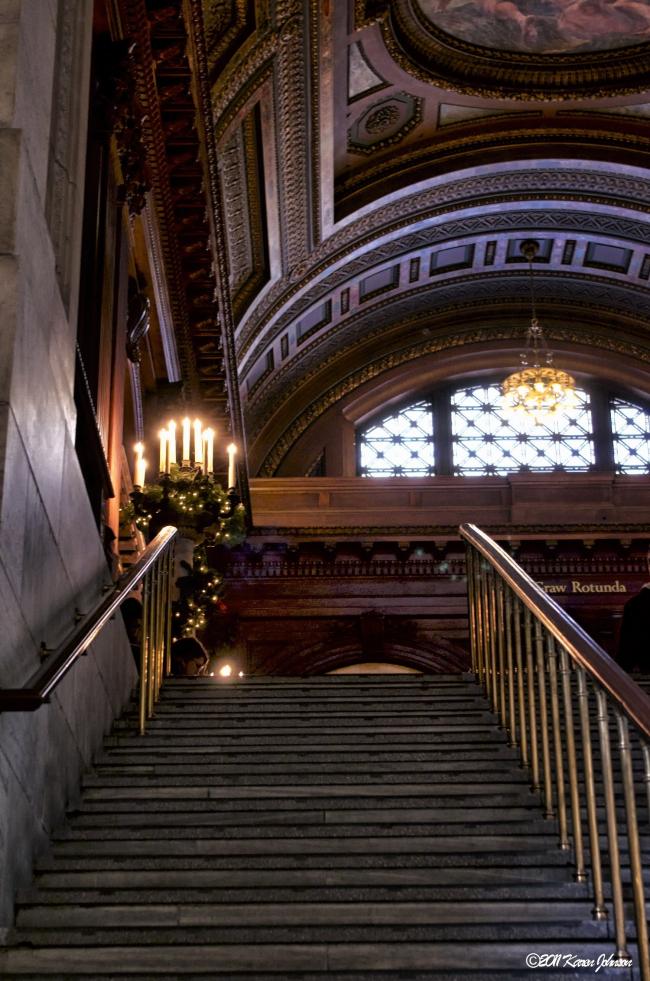 Нью-йоркская публичная библиотека. Фото © Karen Johnson