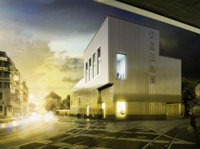 Проект Bachelard Wagner Architekten «Камбала» (Fluke)