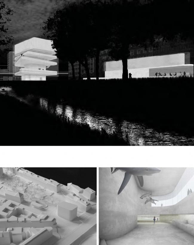 Проект Дэвида Чипперфильда «Базель на море» (Basel liegt am Meer). Полуфинал
