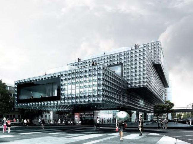 Проект EM2N Architekten «Пауль» (Paul). Полуфинал