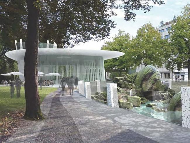 Проект Даниеле Маркеса «Посейдон и Амфитрита» (Poseidon ke Amphitrite). 7-е место