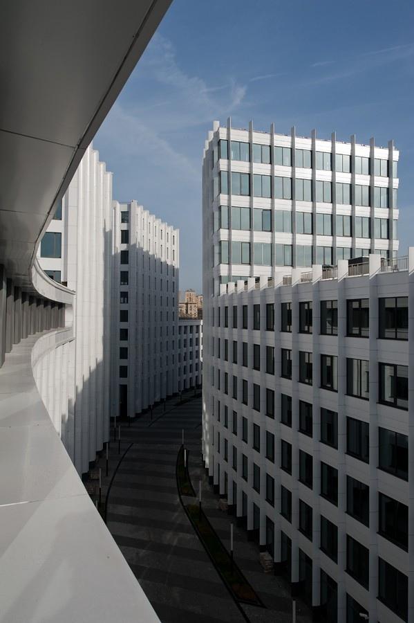 Офисный комплекс «Аквамарин». Фотография © Илья Иванов