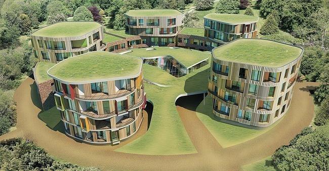 Проект архитектурной мастерской «Атриум» – один из победителей конкурса на проект жилой застройки района «Технопарк» (D2)