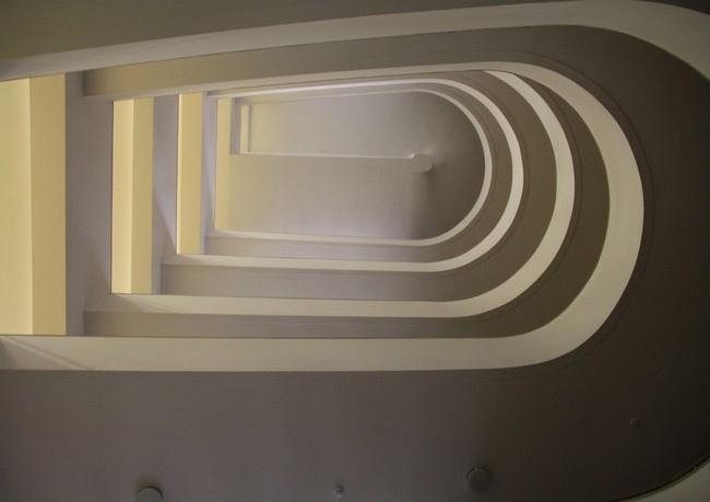 Пандусы башни здания Центросоюза. Фотография Ю. Тарабариной