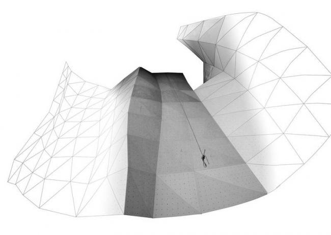 Параметрические скалодромы © ONL [Oosterhuis_Lénárd] bv