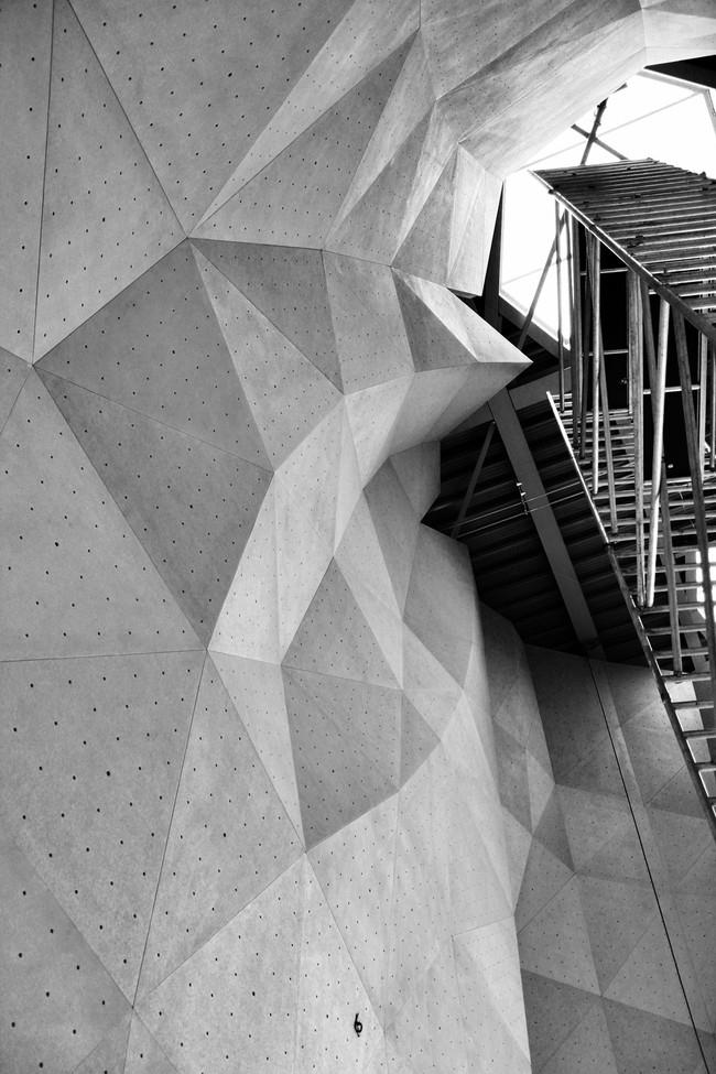 Параметрические скалодромы в процессе строительства © ONL [Oosterhuis_Lénárd] bv