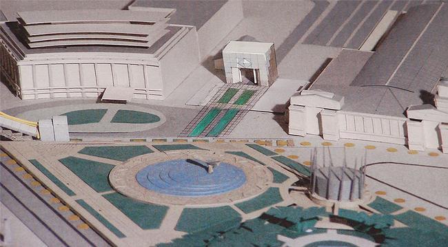 Торговый центр на площади Европы (проект)