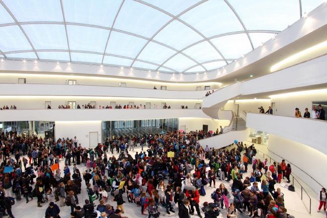 Новая гимназия Бохума © Entwicklungsgesellschaft Ruhr-Bochum mbH