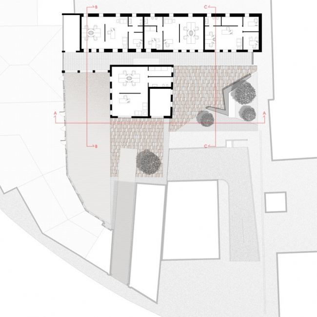 Реконструкция Палаццо Кампьелло © 3ndy Studio