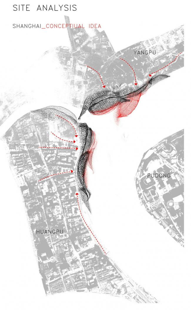Проект парковки в Шанхае. Архитекторы Ольга Яцюк, Евгения Яцюк, Кенни Кинугаса-Цуи и Джастин Лау