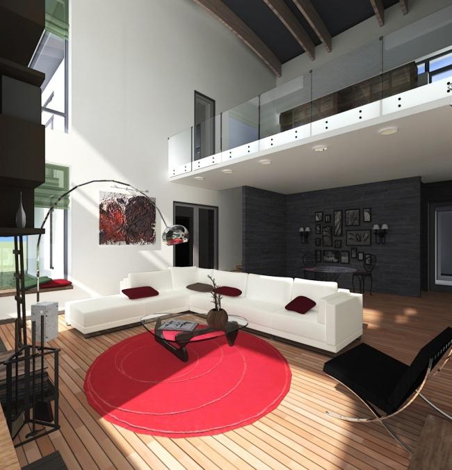 Omega House © Архитектурное бюро Романа Леонидова