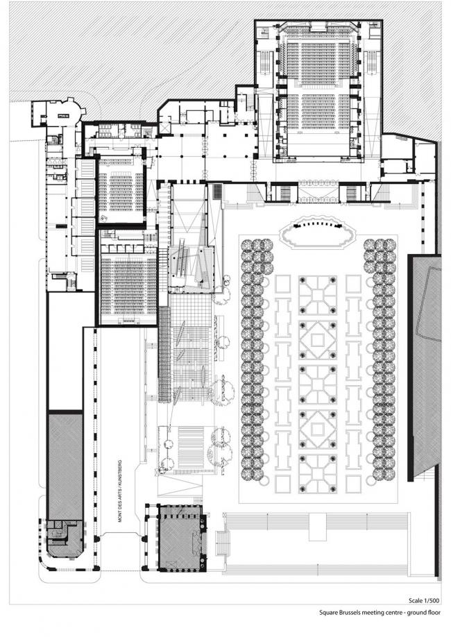 Конференц-центр Square © A2RC Architects