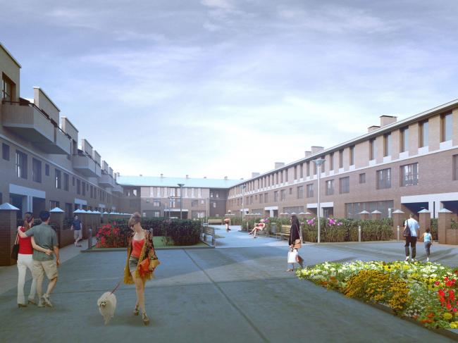 Жилой комплекс «Амазонка». Проект, 2011-2013 © Студия 44