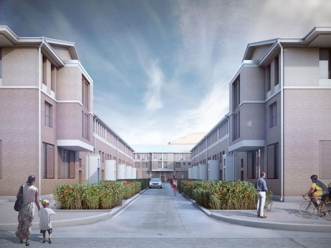 """Amazon"" residential complex. Project 2011-2013 © Studio 44"