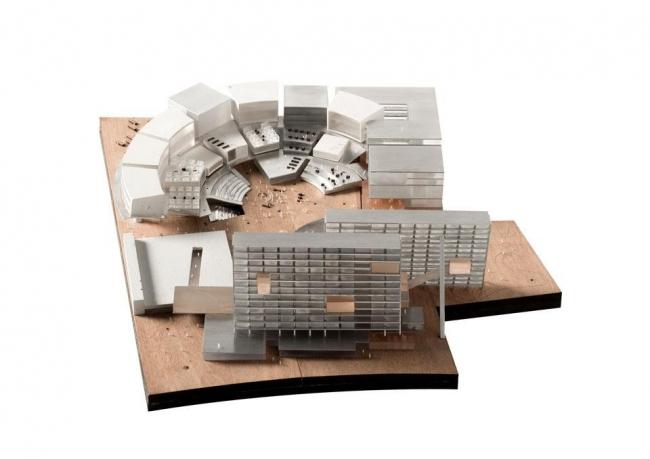 Новый кампус университета Луиджи Боккони - конкурсный проект © OMA