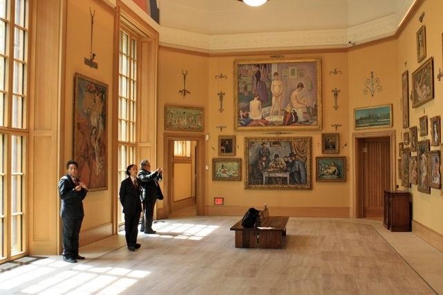 Музей Фонда Барнса © Tom Crane