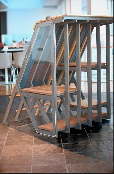 Проект Shelter A бюро Callison Barteluce Architects. Фото Marilynn K. Yee/The New York Times