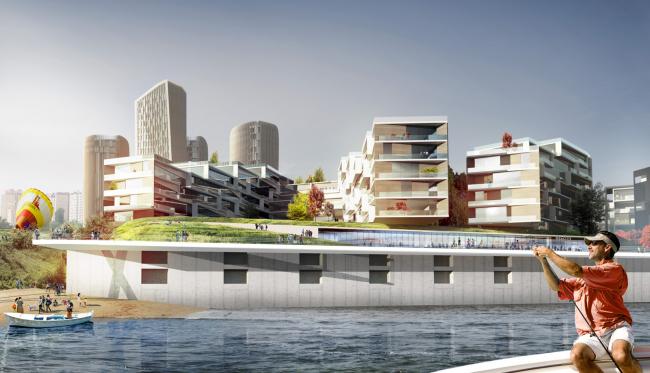 Концепция застройки территории речного порта Волгограда