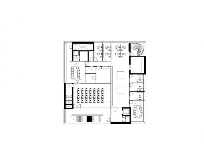 Музей искусств Университета Умео © Henning Larsen Architects