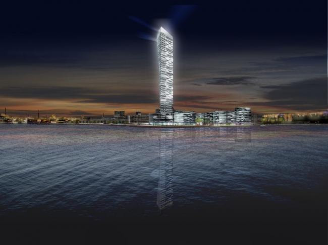 Light*house. Проект жилого квартала (с) 3XN/UNStudio