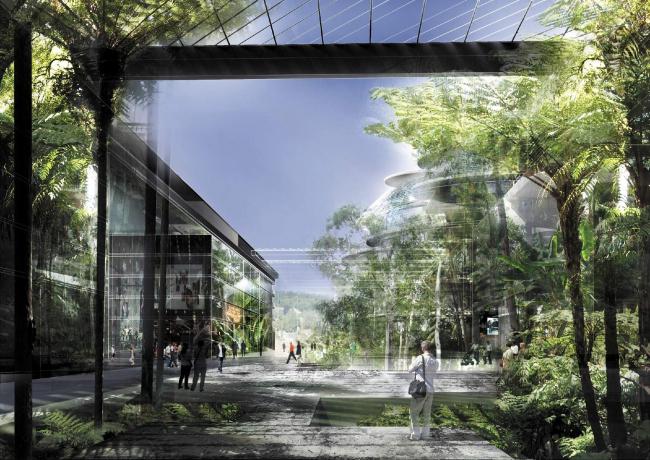Схема застройки острова Сеген © Ateliers Jean Nouvel