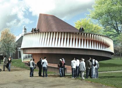 Летний Павильон Галереи Серпентайн 2007. Проект