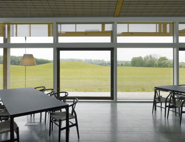 Гостиница Brohuset образовательного центра Pindstrup Centre © Kristine Mengel