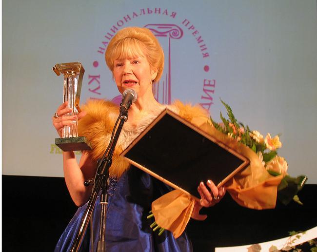 Победительница номинации «Популяризатор» – И. Лысцева