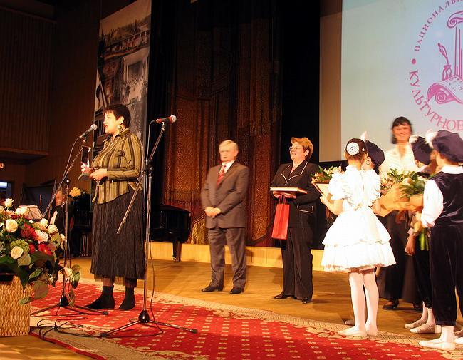 Победители номинации «Доброхот» – творческий коллектив школы №9 им. А.С. Пушкина г. Перми