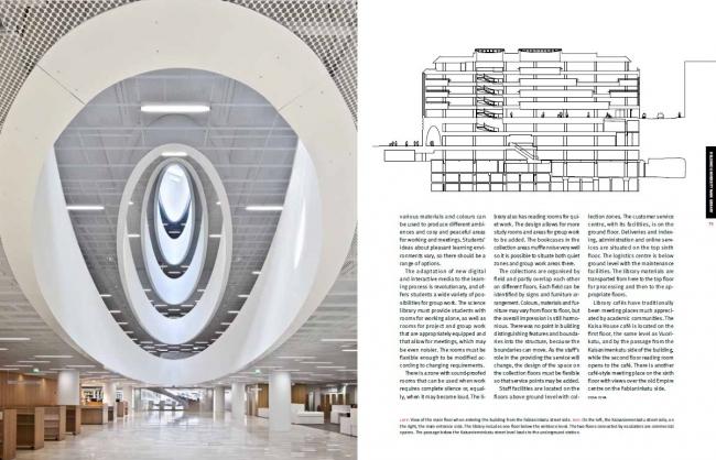 Библиотека Хельсинкского университета Anttinen Oiva Architects