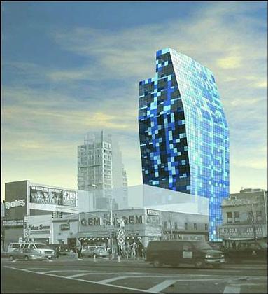 """Blue Tower"",  Норфолк Стрит, 105"
