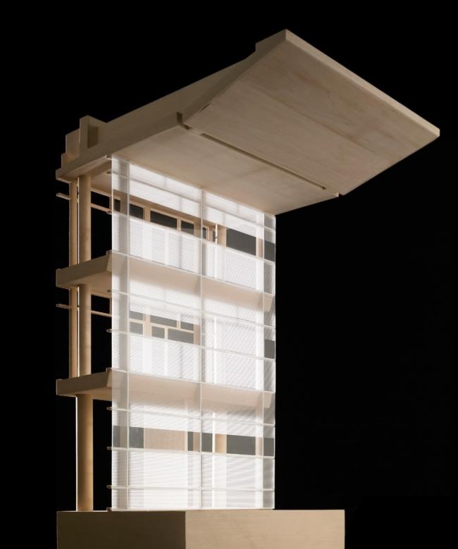 Исследовательский центр корпорации Italcementi © Richard Meier & Partners