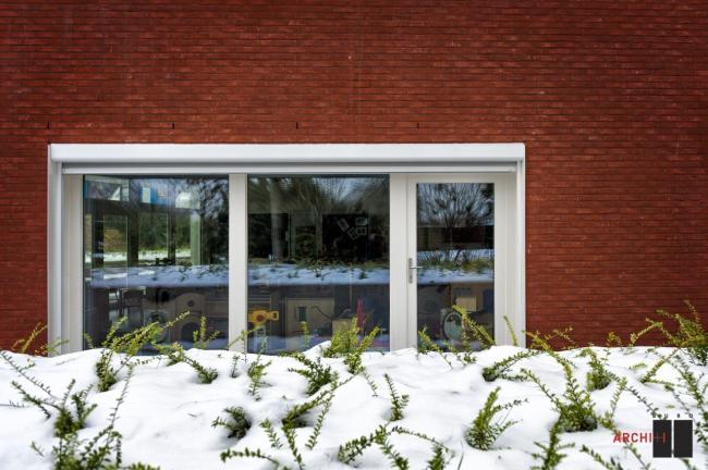 «Пассивный» детский сад в Остдёйнкерке © Klaas Verdru
