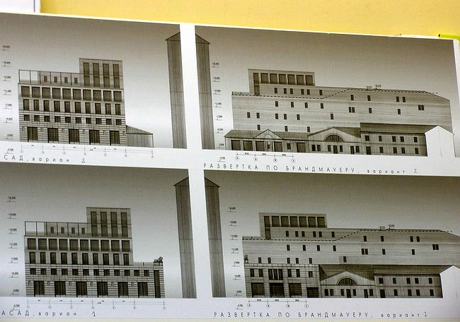 Предпроект регенерации и реставрации жилых домов на Сверчковом пер.